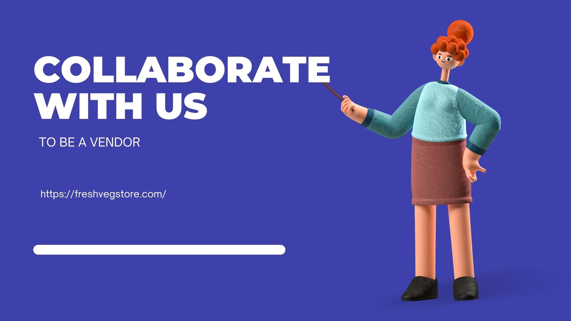 COLLABORATE WITH US TO BE A VENDOR