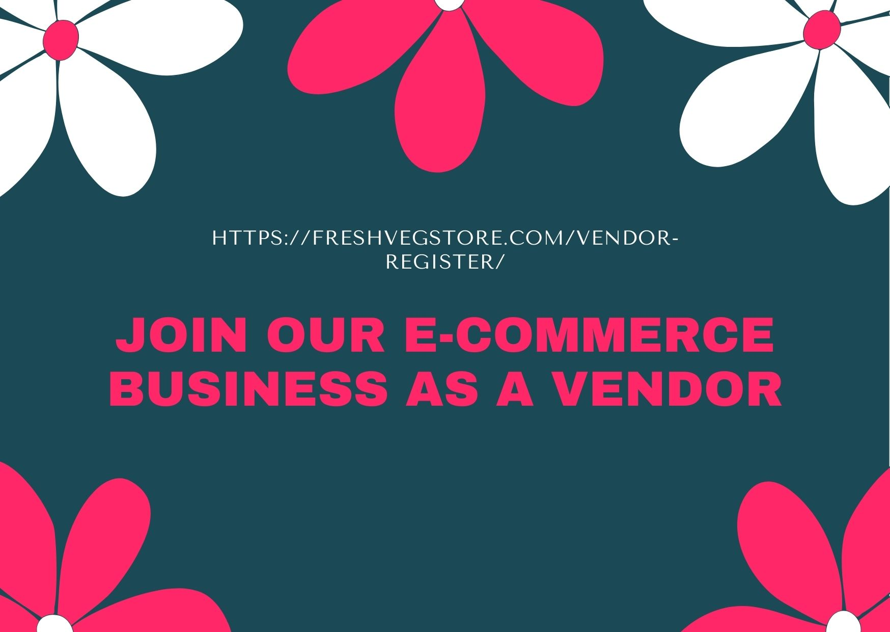 JOIN OUR E-COMMERCE BUSINESS AS A VENDOR